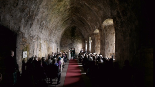 Inchcolm Abbey Wedding Film
