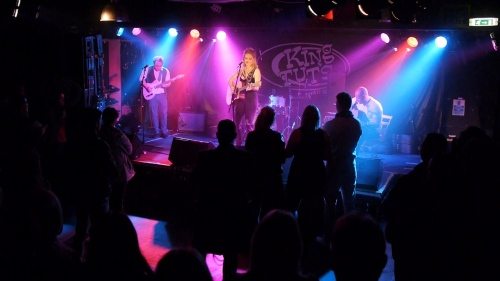 King Tuts Glasgow Band Filming