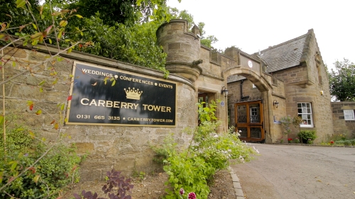 Carberry Tower Wedding Video-1