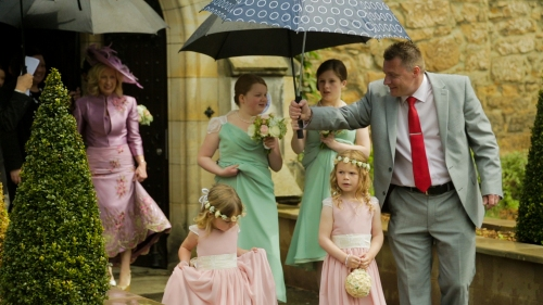 Carberry Tower Wedding Video-18