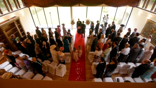 Carberry Tower Wedding Video-21