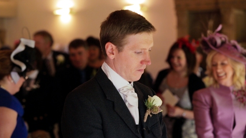 Carberry Tower Wedding Video-22