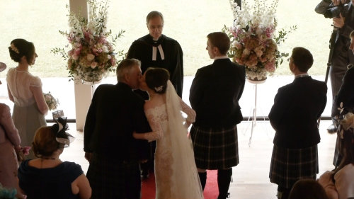 Carberry Tower Wedding Video-24
