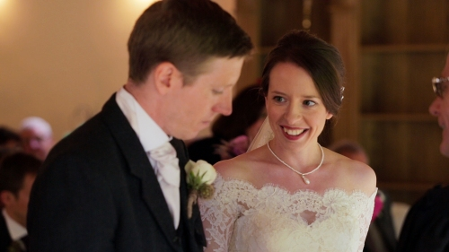 Carberry Tower Wedding Video-25