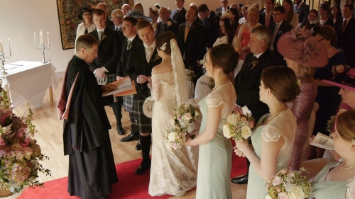 Carberry Tower Wedding Video-27