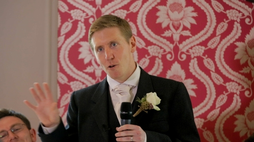 Carberry Tower Wedding Video-57