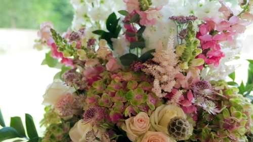 Carberry Tower Wedding Video-6