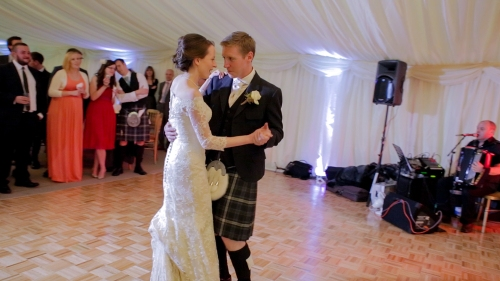 Carberry Tower Wedding Video-68
