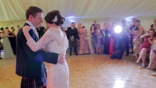 Carberry Tower Wedding Video-69
