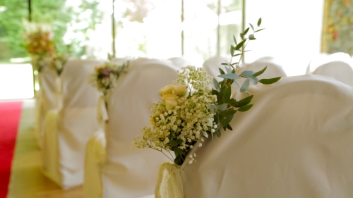 Carberry Tower Wedding Video-7