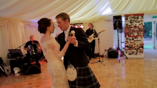 Carberry Tower Wedding Video-71