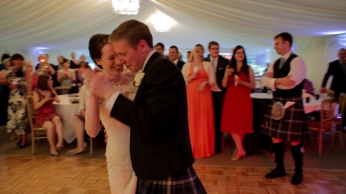 Carberry Tower Wedding Video-72