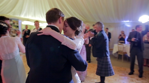 Carberry Tower Wedding Video-73