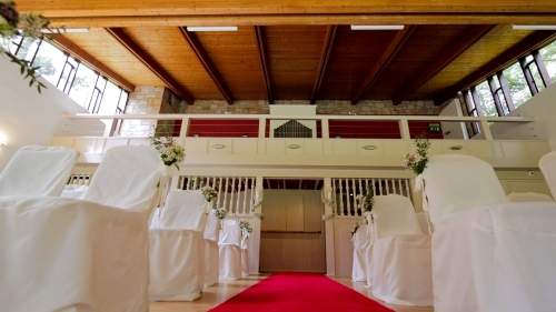 Carberry Tower Wedding Video-9